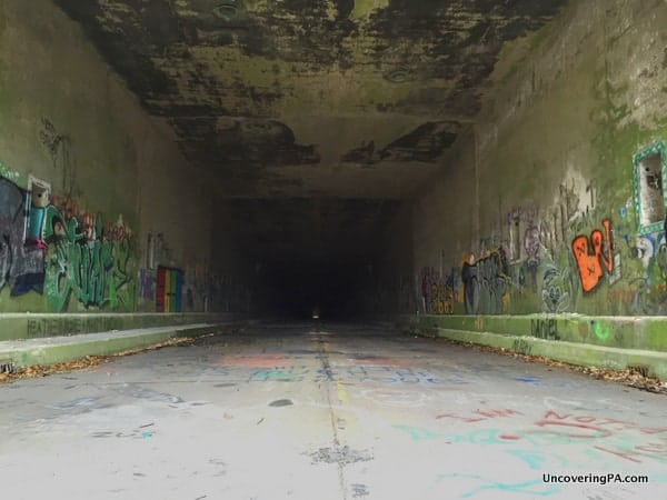 Rays Hill Tunnel in Breezewood, PA.