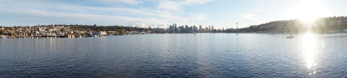 Skyline of Seattle from Gas Works Park (where 10 Things I Hate About You was filmed)