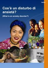 Translated Anxiety Disorders Factsheet - Italian