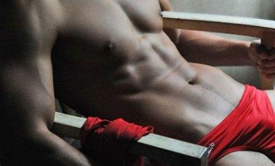 Red Speedo Bulge