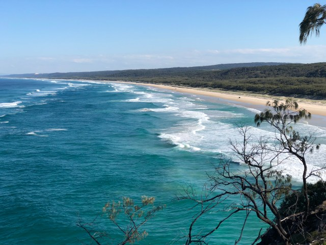 Stradbroke July 2018 from walkway