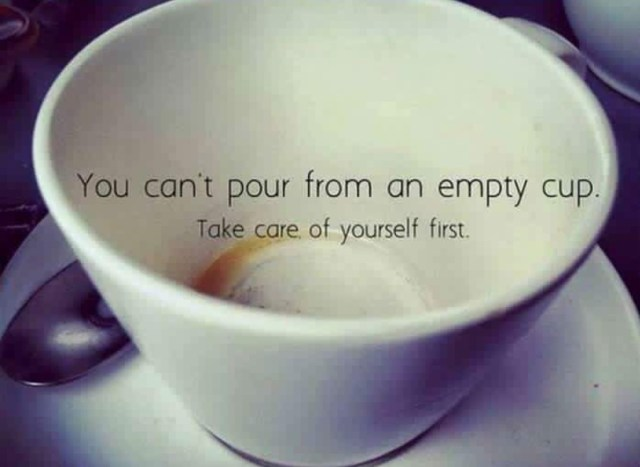 you can't pour from an empty cup graphic