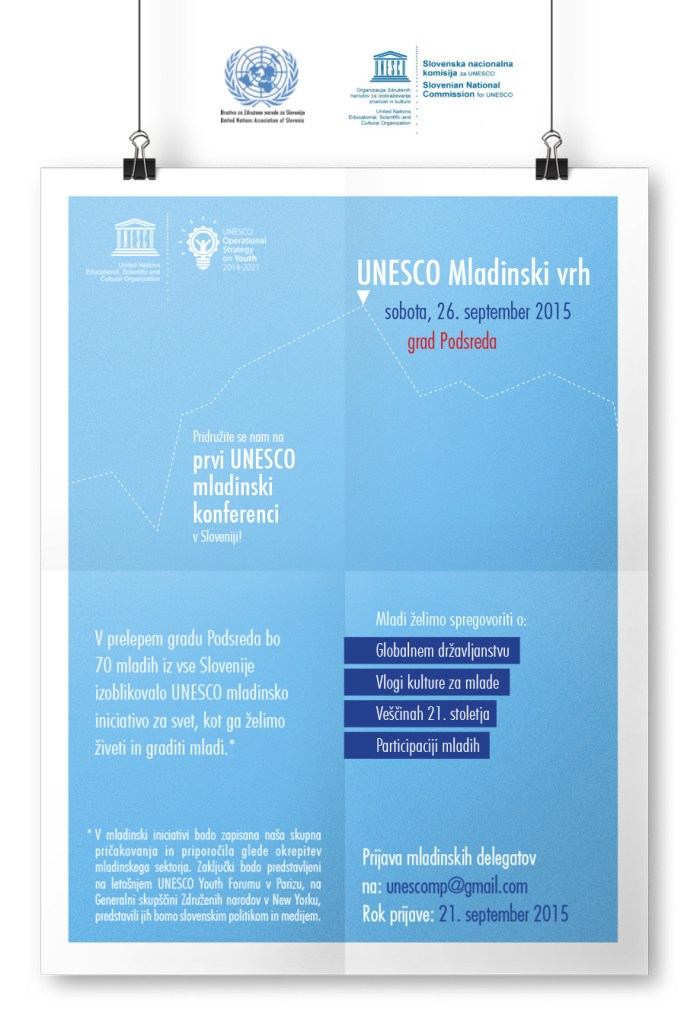 UNESCO mladinski vrh_newsletter_september 2015