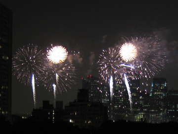 New York City Fireworks 2005-06-11
