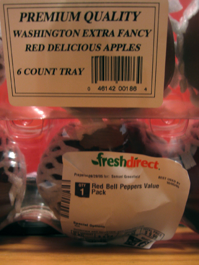FreshDirect Apples