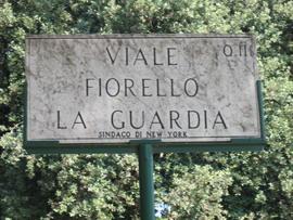 Viale Fiorello La Guardia; Sindaco de New York