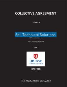 Collective_agreement_BTS_2018-2022_Ontario Cover
