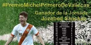 Jozabed, jugador más votado ante la UD Las Palmas