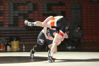 Aaron hitting a double leg