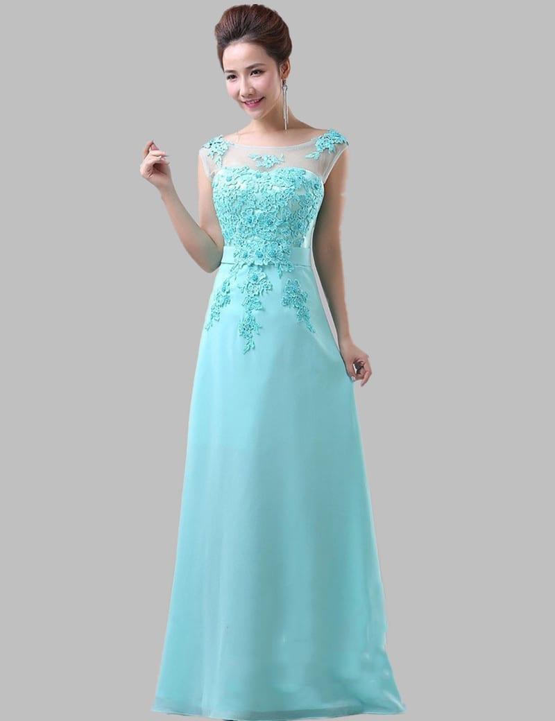 Fancy Mint Blue Lace Chiffon Long Bridesmaid Dress Mint Blue Lace Chiffon Long Bridesmaid Dress Mint Bridesmaid Dresses Ireland Mint Bridesmaid Dresses Etsy