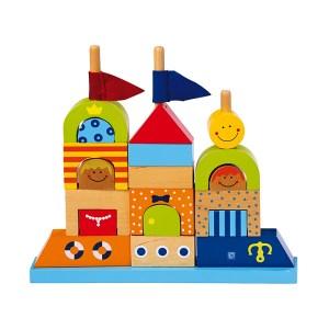 Sandcastle Blocks – wooden toy by Legler - artnomore.co.uk