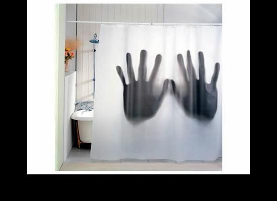 戦慄のシャワーカーテン