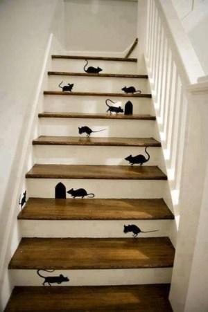 遊び心満点の階段