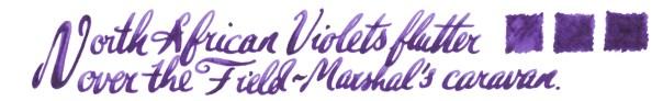 North African Violet sample copy