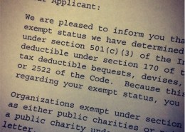 IRS Approval Letter
