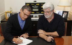 ROBERT A. IGER (PRESIDENT AND CHIEF EXECUTIVE OFFICER, THE WALT DISNEY COMPANY), GEORGE LUCAS