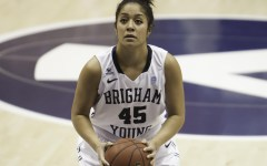BYU's Keilani Unga has scored in double figures in four straight games (Photo by Elliott Miller)