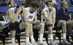 Players express disappointment after losing to UCI.