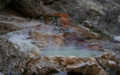 Ogden Hot Springs offers the public a place to relax and enjoy the winter season while staying nice and warm. (Photo courtesy of UtahOutdoorActivities.com.)