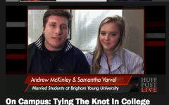 Andrew and Samantha McKinley were interviewed on HuffPost Live about being married while in college.