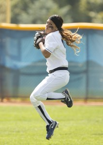 Gordy Bravo crow hops in preparation for a throw home during a game last season. Photo courtesy Jaren Wilkey/BYU photo