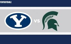 BYU announced this morning they will take on Michigan State in 2016 and 2020.(byucougars.com)