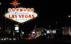 The famous Las Vegas sign has welcomed many Cougar fans over the years. (Creative Commons)
