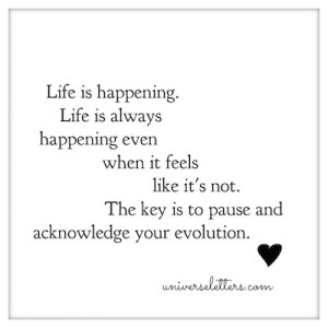 life-is-happenning
