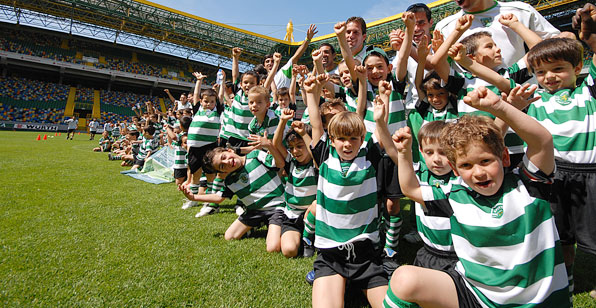 Escola Academia Sporting| Fonte: supersporting.net