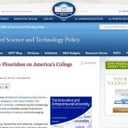 White House Blog Mentions UI Fellows program and wiki.