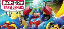 Sigue la emoción con Angry birds Transformers