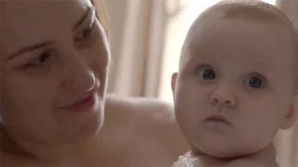madre con bebè