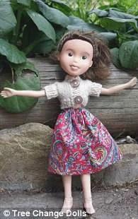 bambola gonna rosa