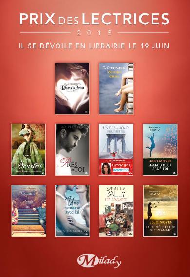 Prix des lectrices 2015 en lice