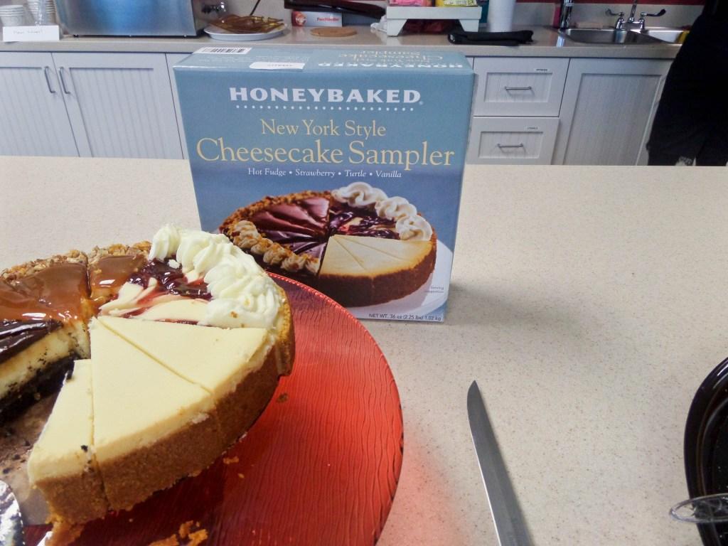 Honey Baked Ham Cheesecake Sampler