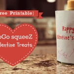 GoGo squeeZ Healthy Valentines Day Treat {Free Printable}