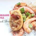 {A Quick Meal} New Orleans Style Barbecued Shrimp