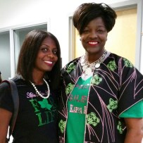 Proud to be an Alpha Kappa Alpha woman. Had the pleasure to stand beside our International President