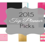 {Mimi Gets Organized} Top  Planner Picks for 2015