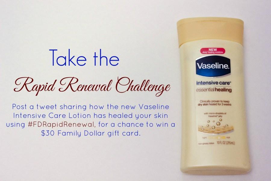 Vaseline Rapid Renewal Challenge