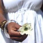 A White Linen Dress