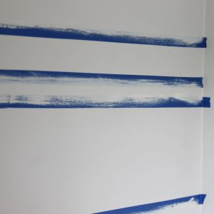 How to paint Crisp Wall Stripes