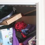 Organizing Mamas – Mud Room Closet Makeover | Before