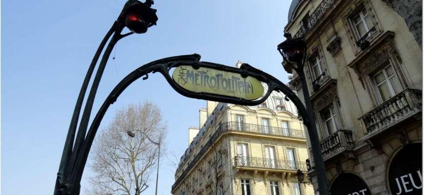 El metro de París