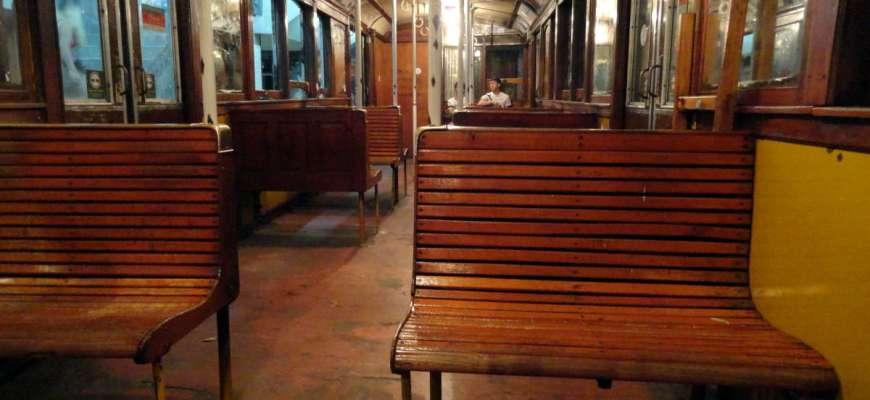 Viejo vagón de la Línea A