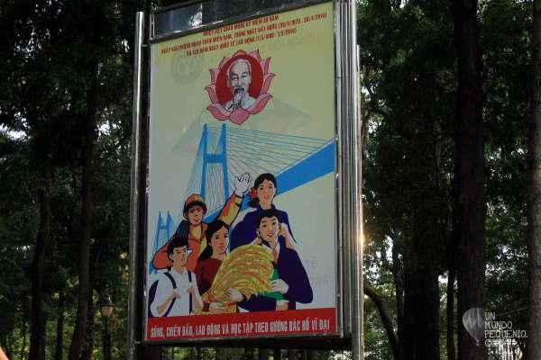propaganda comunista saigon