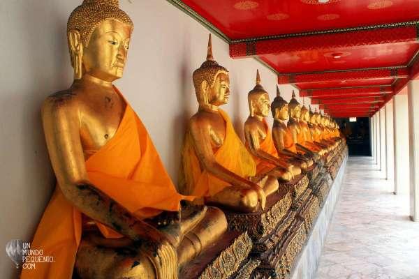 Wat Pho muchos budas