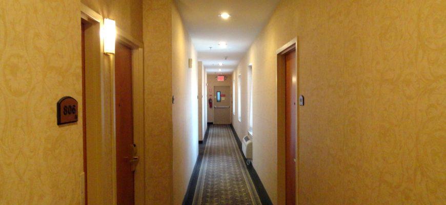 Comfort Inn Long Island City pasillo