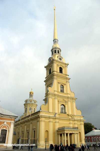 Catedral de San Pedro y San Pablo desde afuera