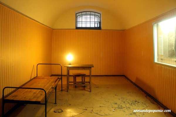Celda de la prisión Trubetskoy